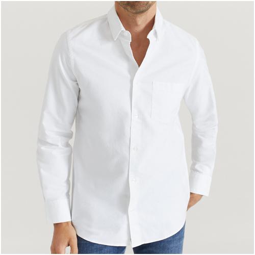 vit skjorta herr