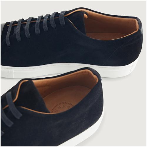 Human Scales Svarta Sneakers Herr