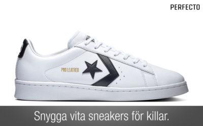 Vita sneakers herr 2020. Snygga sneakers för varje plånbok och stil!