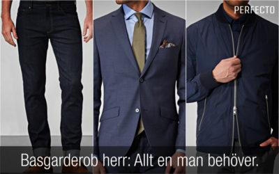 Basgarderob herr 2020: Kläder och accessoarer alla män bör ha i sin garderob!