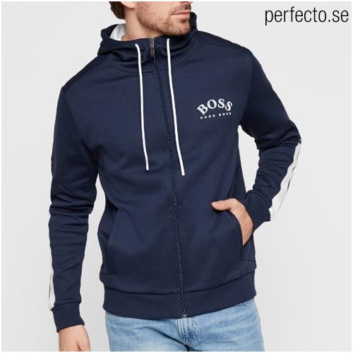 Hugo boss zip hoodie herr