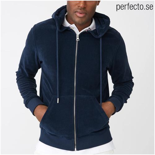zip hoodie herr