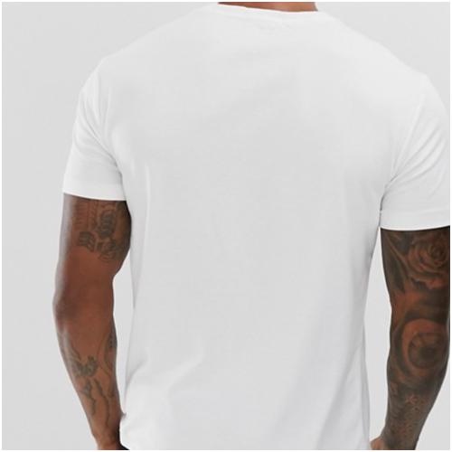 Bas t-shirt vit ralph lauren
