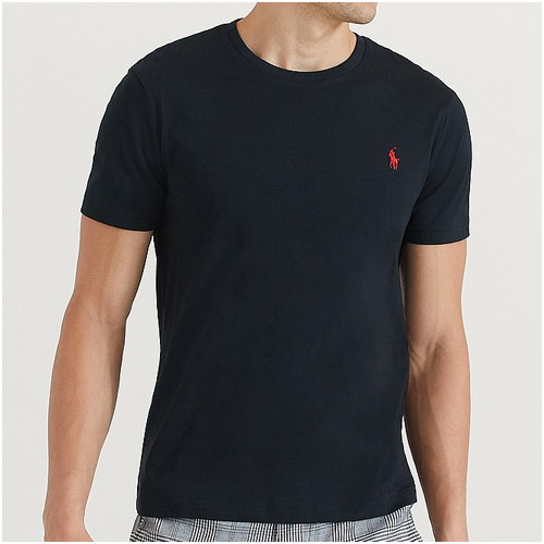 svart bas t-shirt herr