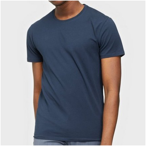 blå bas t-shirts herr