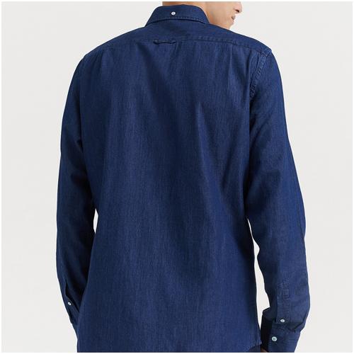 gant jeansskjorta herr