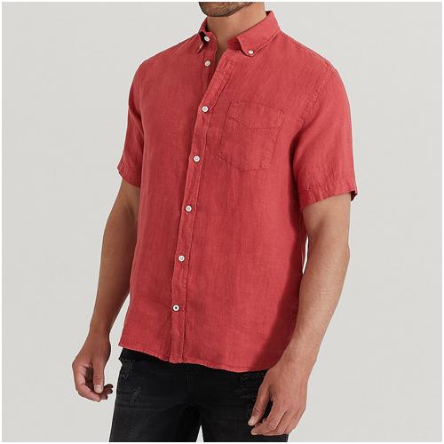 röd skjorta herr