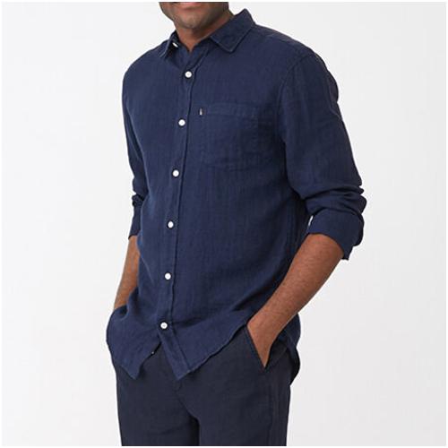 lexington linneskjorta herr