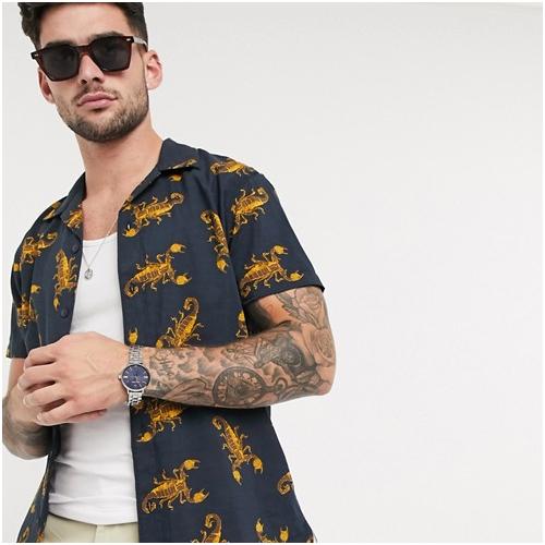 kortärmad sommarskjorta