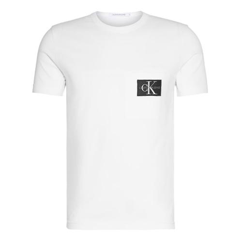 vit t-shirt herr calvin klein