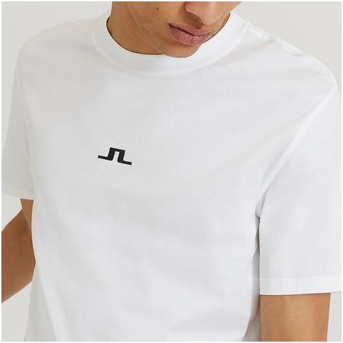 vit t-shirt herr j.lindeberg