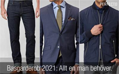 Basgarderob herr 2021: Kläder och accessoarer alla män bör ha i sin garderob!