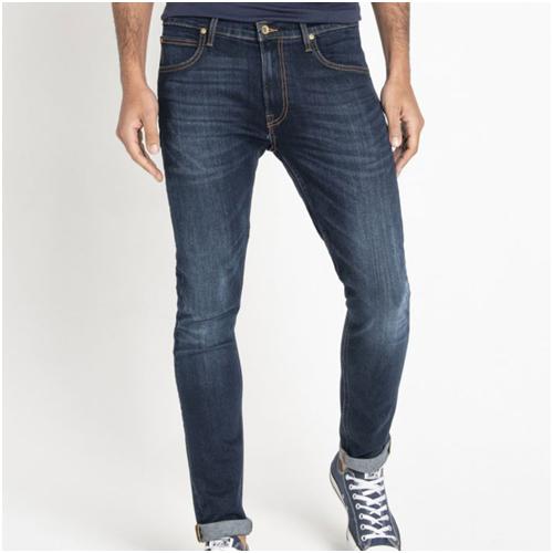 basgarderob herr - mörkblå jeans