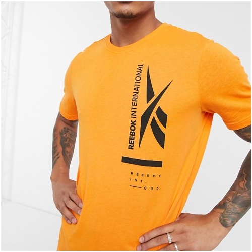 reebok gym t-shirt herr