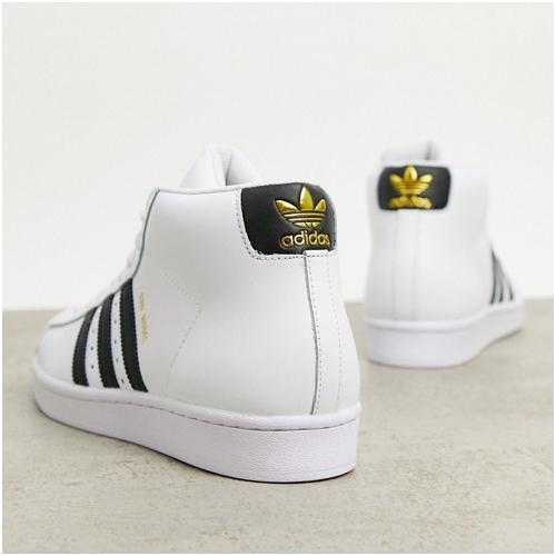 adidas höga sneakers herr