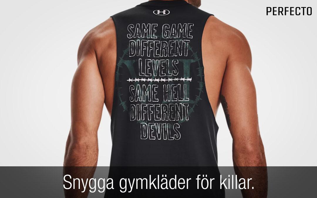 Snygga gymkläder herr