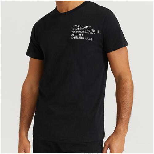 helmut lang t-shirt herr