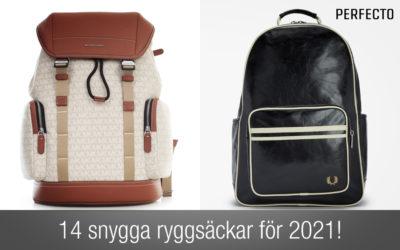 Snygga ryggsäckar herr 2021. Hitta en ny snygg ryggsäck här!