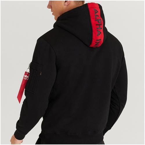 alpha industries hoodie herr