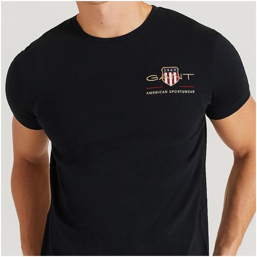 svart t-shirt herr Gant