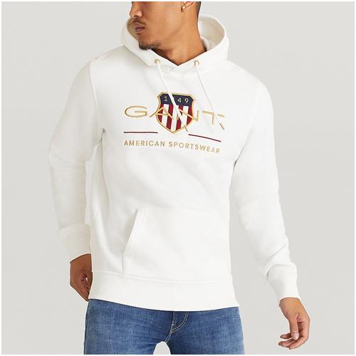 gant hoodie herr