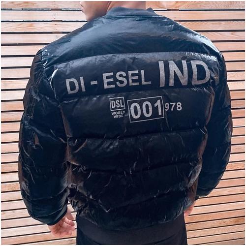 vinterjacka herr Diesel