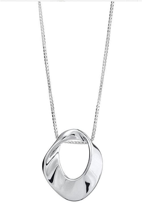 julklapp till henne - halsband silver