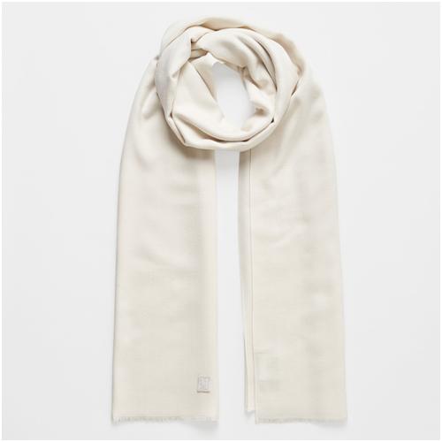 julklappstips - vit halsduk