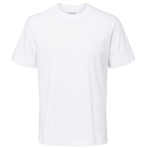 basgarderob herr - vit t-shirt