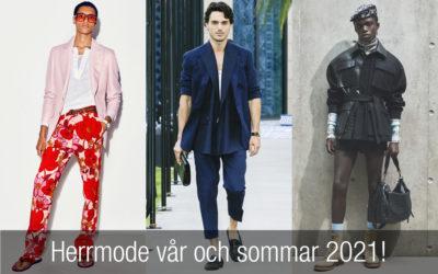 Herrmode 2021 – modetrender vår och sommar som du måste känna till!