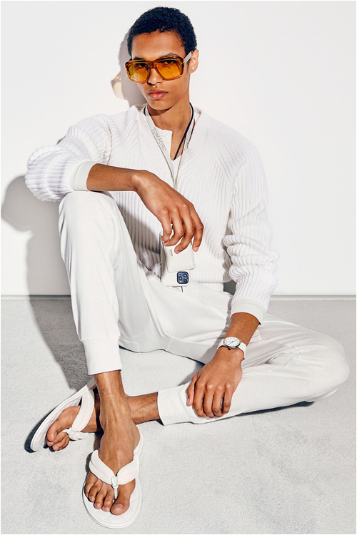 Trend herrmode 2021: vit outfit - Tom Ford