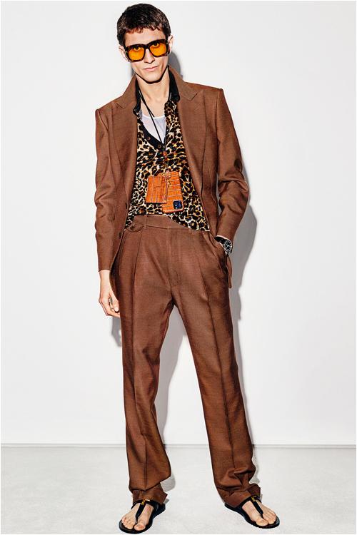 Outfit med lager på lager från Tom Ford