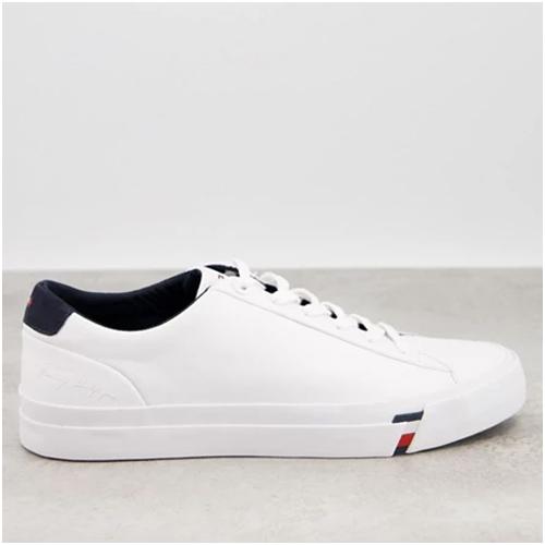tommy hilfiger vita sneakers herr