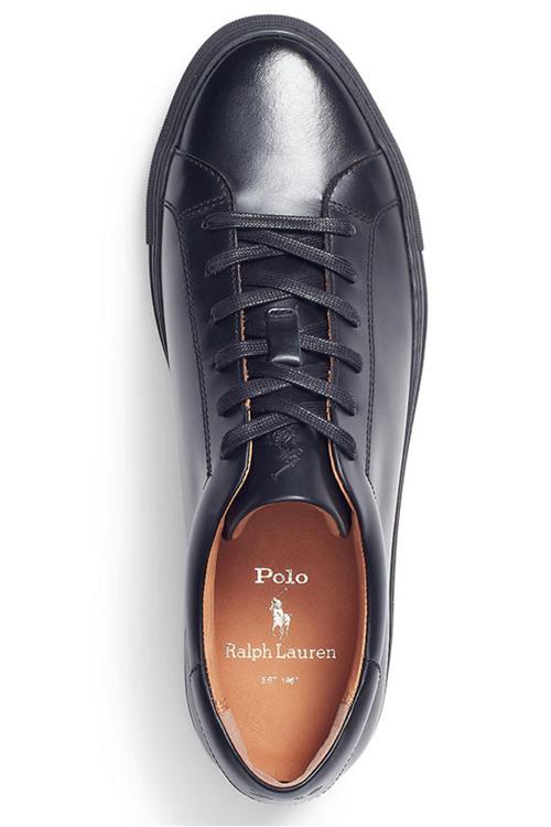 ralph lauren svarta sneakers